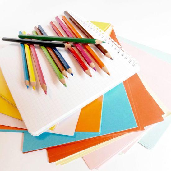 Bientôt La Rentrée ! Back To School Color Pencils  Notebook