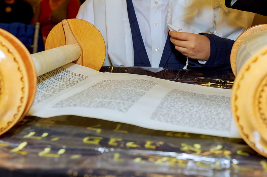 Barmitzvah reading Torah scrolls Holy city of Jerusalem on Holiday of 13th birthday of jew. Classical Torah Holiday Jewish Mitzvah Papyrus Pray Rabbi Reading Talith Testament Torah Reading Torah Scrolls Bar-mitzvah Barmitzvah Bible Hasidim Holy Text Judaism Kabbalah Manuscript Rolling Scroll Scrolls Synagogue Temple