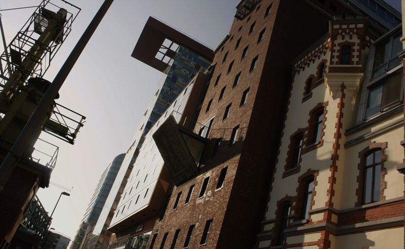 Düsseldorf Am Rhein EyeEmNewHere Architecture Brickstone Building Building Exterior Built Structure Düsseldorf, Medienhafen Industrial Landscapes