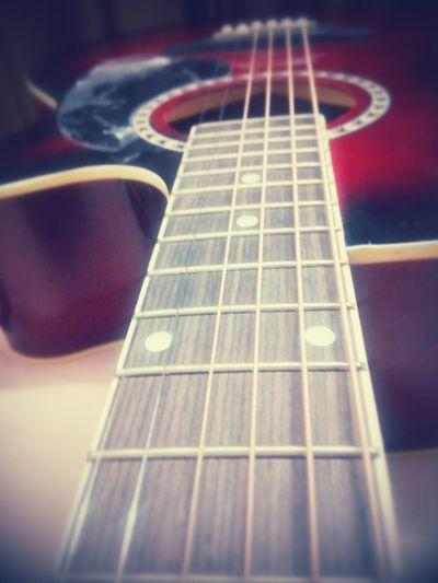 Music on strings.