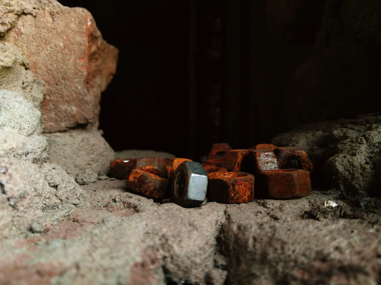 rusty, metal, no people, weathered, close-up, day, outdoors