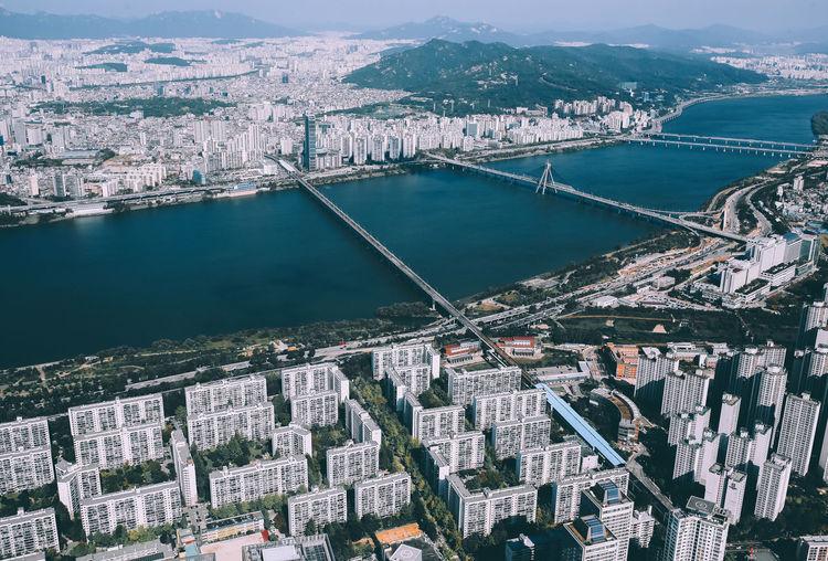 Sky view of han river