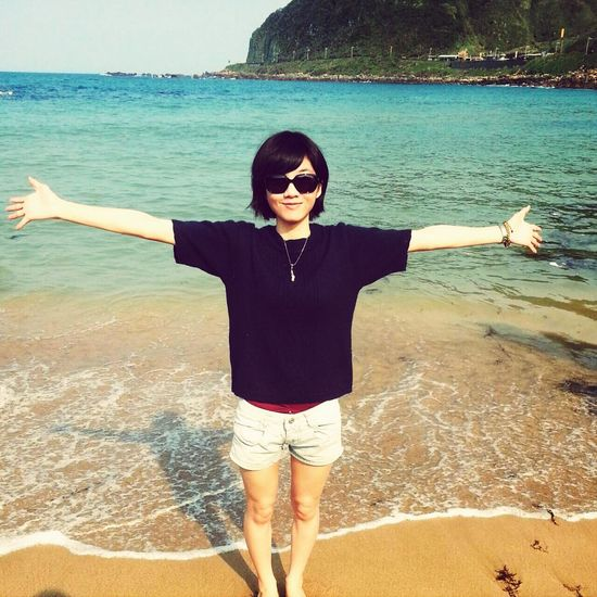 I Love Beach(summer) Travel Photography Natural Beauty Life I enjoy my life a lot. and my life is better than yours?