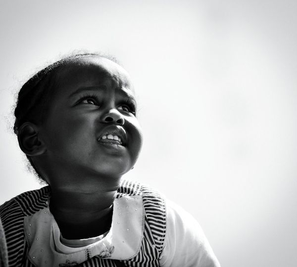 Blackandwhite Black And White Baby Babygirl Portrait Black Black & White Detail Young Women Girl Africa Kenya Lady Eyes Beauty Beautiful Woman Portrait Cute Futuristic Headshot Childhood Child Close-up Pretty