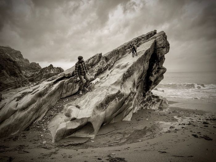 Eroded Erosion Cloud - Sky Cloudy Stormy Sky Stormy Stormy Weather Cliffs Rock Formation Rock - Object Rock Sky Land Beach Sea Sand Water Cloud - Sky Beauty In Nature Scenics - Nature Nature Tranquility Tranquil Scene Horizon Over Water Day Horizon Motion Non-urban Scene Outdoors 17.62° My Best Photo