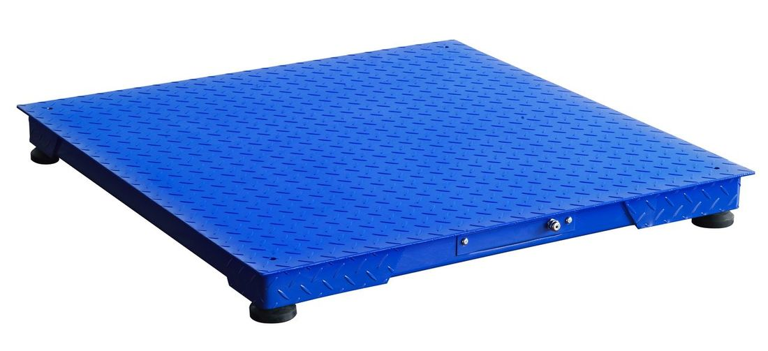 Robust Isolated Metal Flat Metal Scale Platform Electronic Scales Blue White Background No People Outdoors Day