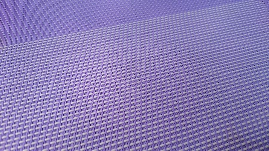 Full frame shot of purple seat