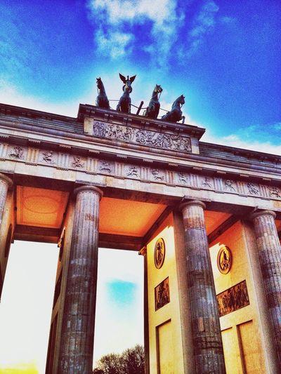 Brandenburger Gate in Berlin First Eyeem Photo