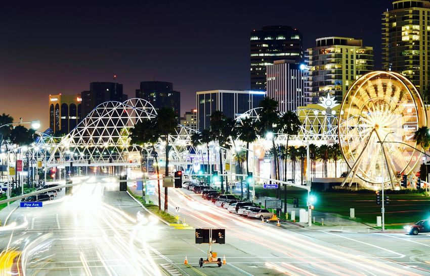 Photography Nightphotography Neon Lights Long Exposure City Life City Dwellers City Of Dreams Best EyeEm Shot Carousel Neonlights