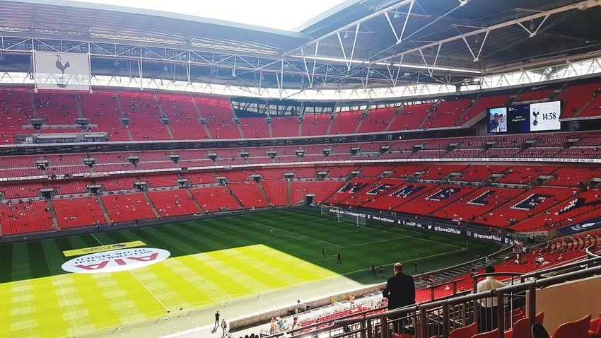 Wembley on a sunny day Stadium Soccer Field Sport Matchday Tottenham Hotspur Wembley Stadium London Trip
