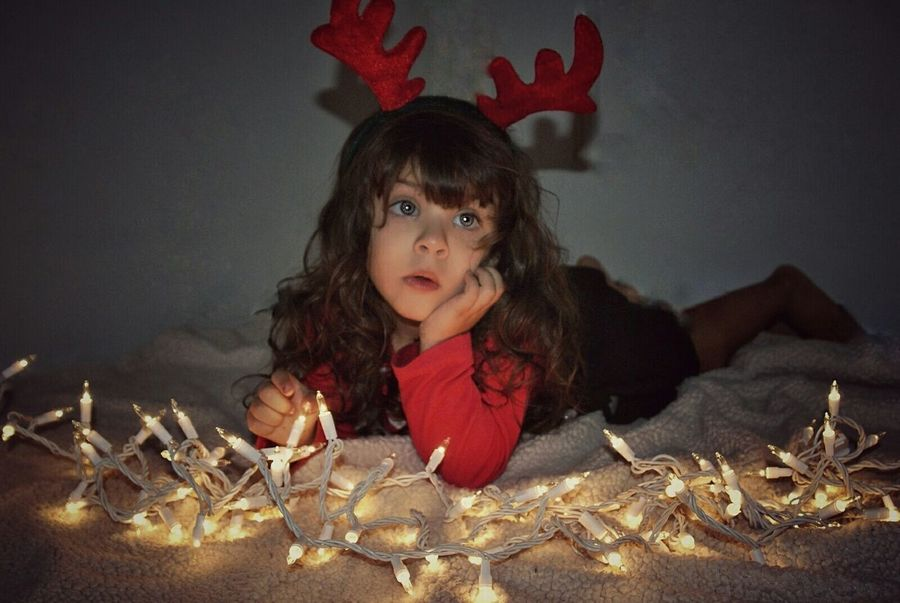 Showcase: December Holiday Christmas Lights Best Christmas Lights Children Photography Babygirl Mesmerized