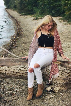 Body Curves  Blonde Girl Girlswhosmokeweed Lake Goodvibes MaryJane Happy Marijuana Secret Hideaway Dreaming