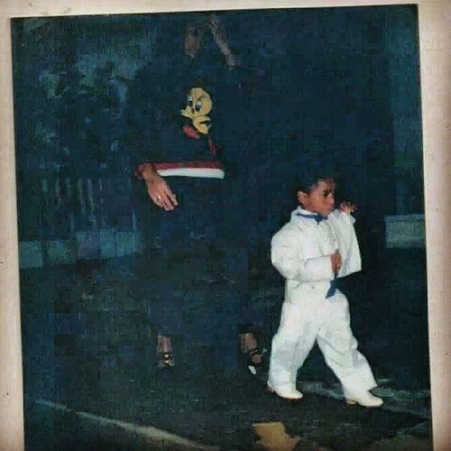 Me and my mum. WaybackWednesday WBW  90s 1997 boygotstyle instafashion whitesuit igdaily tweegram instagramhub picoftheday doesmyshitlooktight