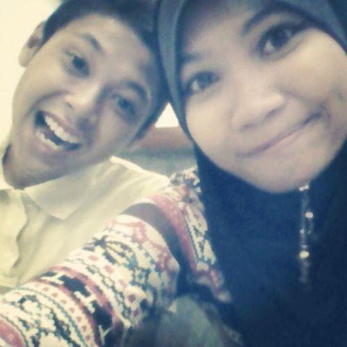 Adik aku paling manja :) Brother Alifaqil