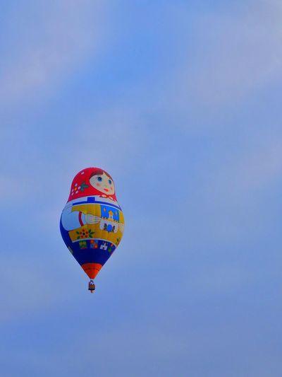 Flying Hot Air