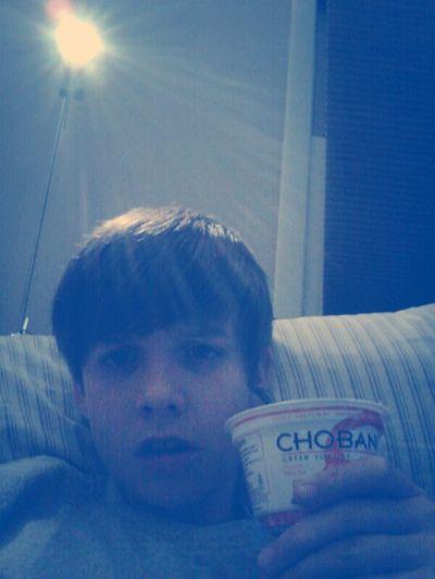Hanging With Yogurt