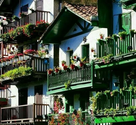 Colours My Country In A Photo North Of Spain BasqueCountry Colours House Color Portrait Life Is A Beach