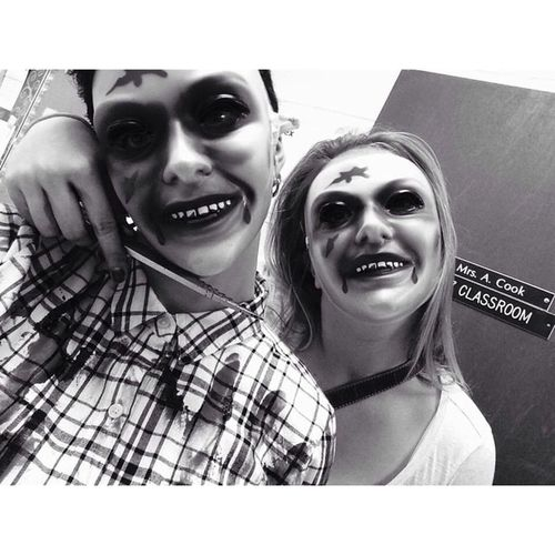 let us purge 💀 Purge Spookwalk Bff Loveher fave scary grads