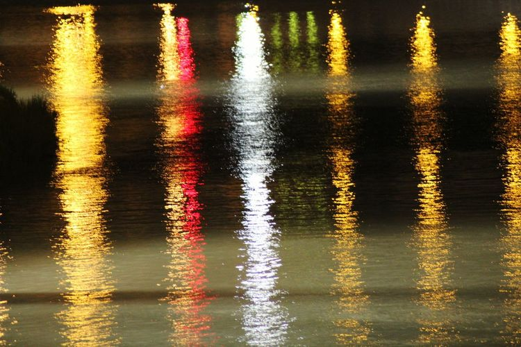 Reflection Water No People Outdoors The Arno River by night Studio Shot