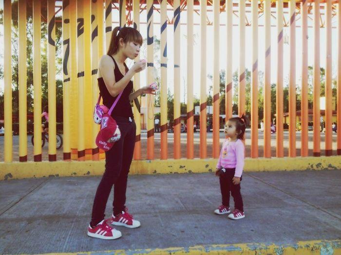 Hi! That's Me Mi Bebe!! ❤ Parque
