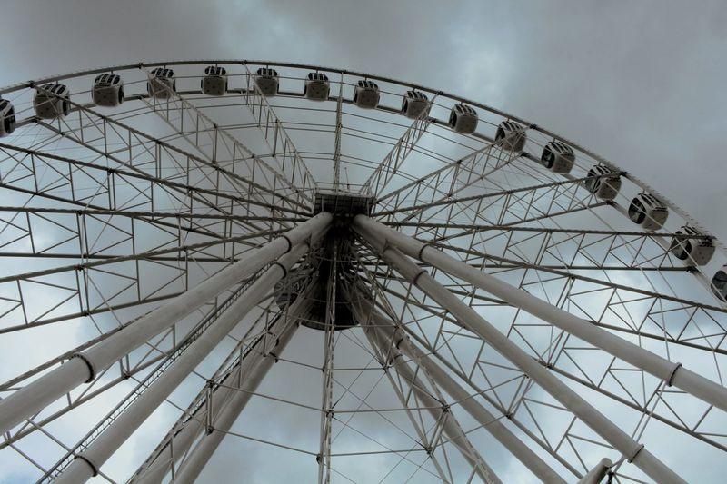 High levels Photo Photography Streetphoto_bw cityscapes Laperla Carousel