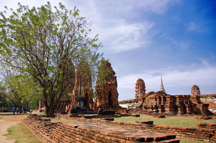 Ancient City Bangkok Architecture Ayutthaya | Thailand Ancient City Built Structure Old Buildings Watmahathat