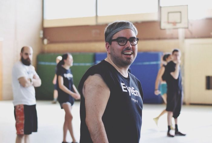 Being PAL Playing Dodgeball Go Team! EyeEm Dodgeball 2014