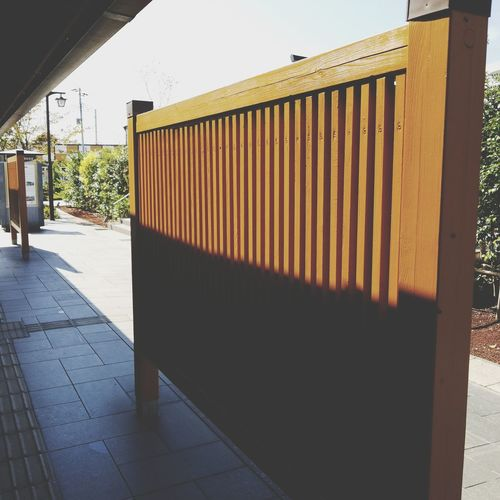 lattice Lattice Blindfold 格子 目隠し 木 Wood Corrugated Iron Sky Architecture