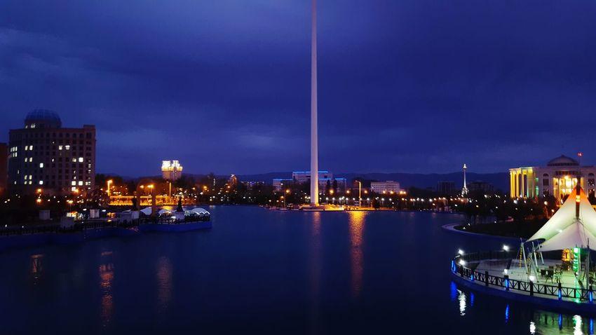 Flagpole Park Dushanbe City Galaxy S6 Mobile Photography