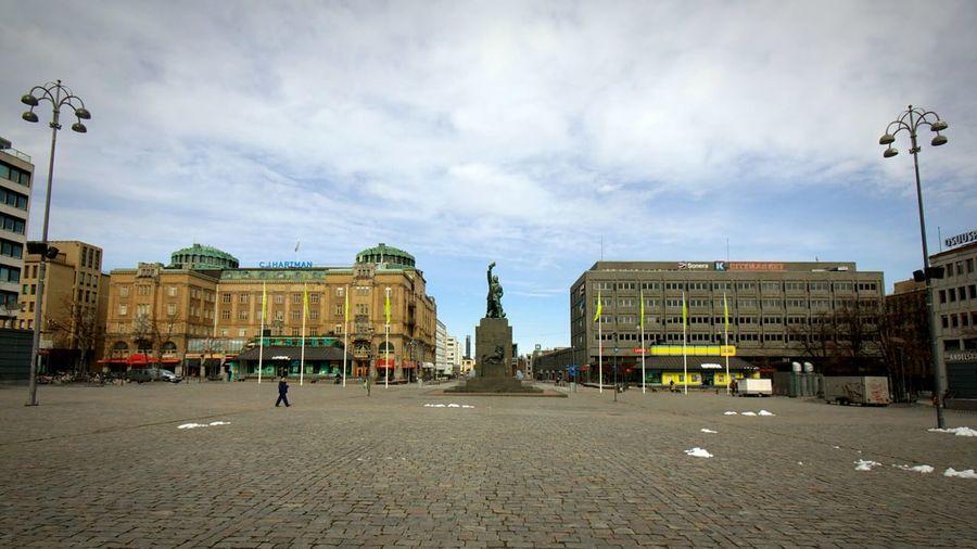 Vaasa Vasa Rewel Center Tori Finland Suomi Market Square Town Market Square