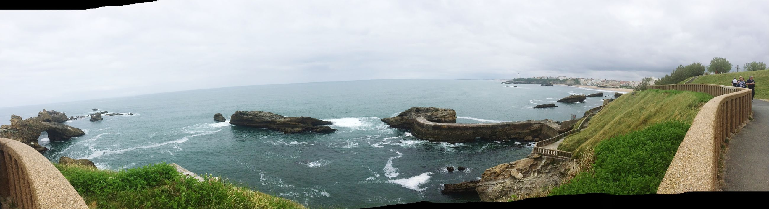 Biarritz Sea Sunset Check This Out That's Me Hello World Taking Photos Landscape Photography Panorama