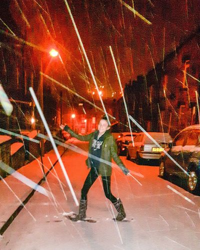 Is it snow or lightsabers. ..... Snow Snowing