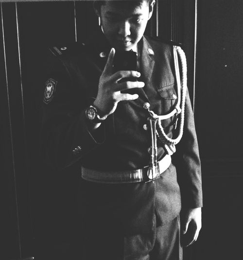 Cadet Lawyer Police Cadets Uniform Classic Home Ulaanbaatar Mongolia Black & White That's Me
