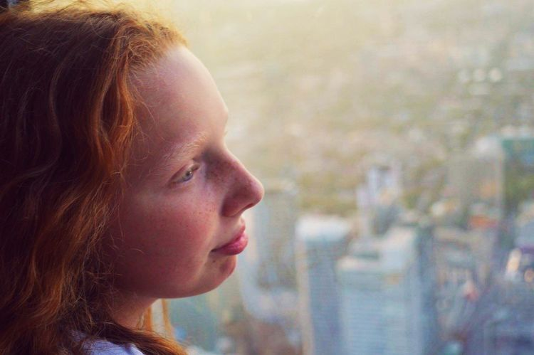 Headshot One Person Portrait Childhood Looking Child Close-up Offspring Body Part Human Body Part Side View Focus On Foreground Women Human Face Girls Looking Away Hairstyle Profile View Contemplation Outdoors
