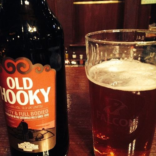 Old Hooky from Hook Norton Brewery in The Cotswold Hills. Beer Oldhooky Cotswolds Thecotswoldhills england unitedkingdom greatbritain