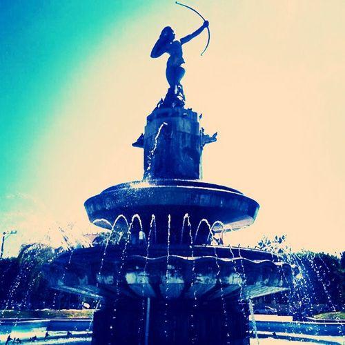 la diana cazadora desde Ixmiquilpan Hgo. Ixmiquilpan Diana Cazadora Monumentos  Que Padre!!