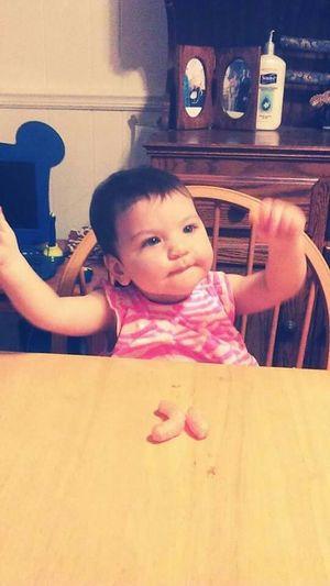 My granddaughter