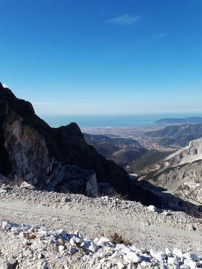 DALLE CAVE DI CARRARA..... Carrara Carrara Marble Mountain Shadow Sky Landscape 17.62°