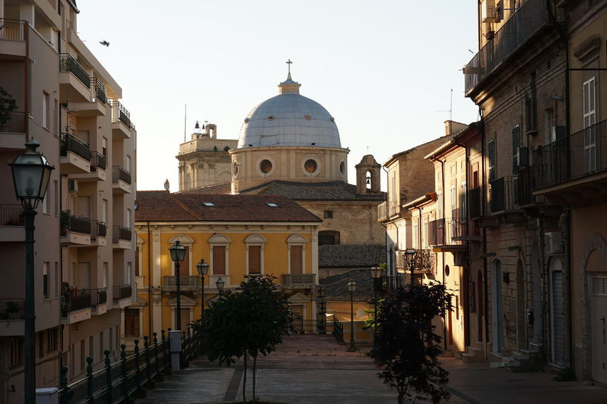 Abruzzo Architecture Building Exterior Built Structure Church Clear Sky Lanciano Simmetrical Streetphotography