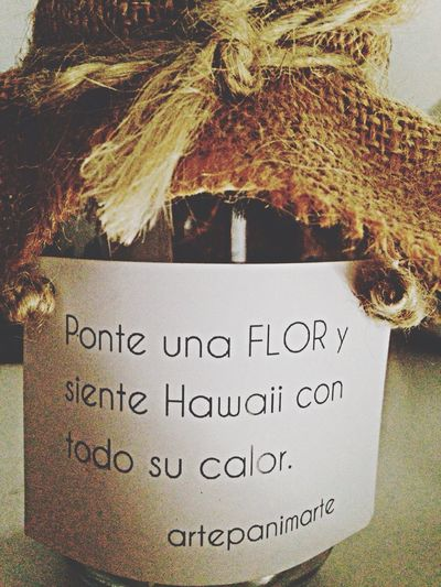 Hawaii Ponte Una Flor Pretty