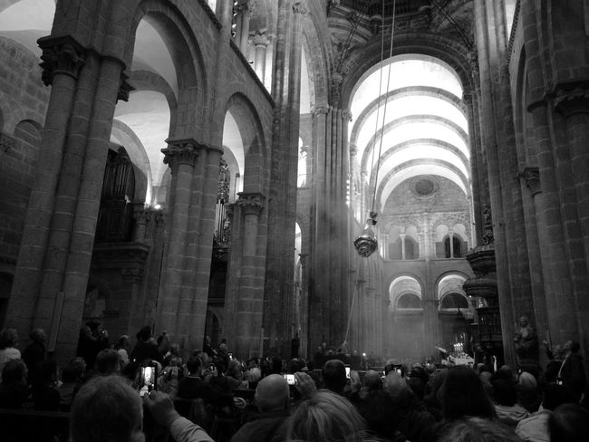 Camino Cathedral Church HuaweiP9 Monochrome Monochrome Photography Pilgrimage Pilgrims Santiago De Compostela