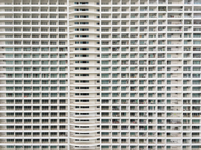 Same... Architecture Background Block Building Built Structure Condominium EyeEmNewHere Full Frame Home Outdoors Pattern Relaxing Same