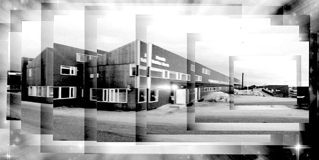 Blackandwhite Monochrome Black And White My Old School A.M.S. Black & White From My Point Of View Check This Out Art Industrial Landscapes