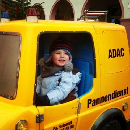 ADAC Pannendienst: Spaß bei der Arbeit.