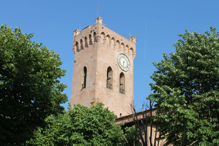 Architecture Blue Clear Sky Cultures Day Frainf History Italy Low Angle View No People Outdoors Sky Toscana Tower Travel Destinations Tree Vacations