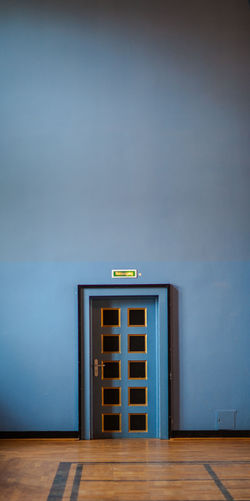 Architecture Blue Built Structure Colorful Conference Conference Center Copy Space Door Emergency Exit Feeling Small House Multi Colored No People Simplicity The Secret Door Vignette Wall Showcase: February Pastel Power Color Palette