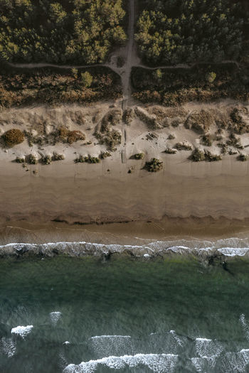Drone  Above Beach Beauty In Nature Coast Day Dronephotography Environment Flowing Water Land Landscape Motion Nature No People Non-urban Scene Outdoors Plant Power In Nature Remote Scenics - Nature Sea Tranquil Scene Tranquility Tree Water