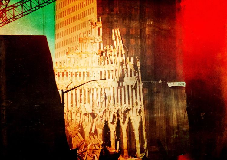 I took this photo one month after the 9-11 attack in New York. Architecture Built Structure No People Building Exterior Indoors  Illuminated City Day Close-up New York City New York, New York New York Twin Towers New York Terrorist Attacks 11S