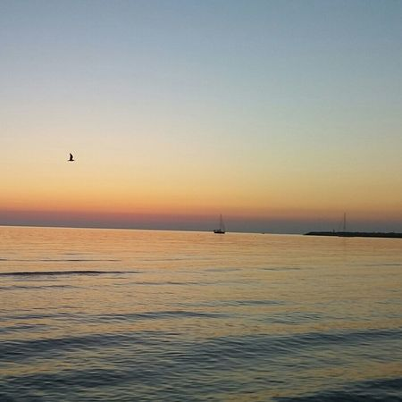 Nofilter#noedit Vieste Alba Dawn Of A New Day Seaside Beach Sea Its A Newday Letsbegin Ship TimeForMyself Just Thinking