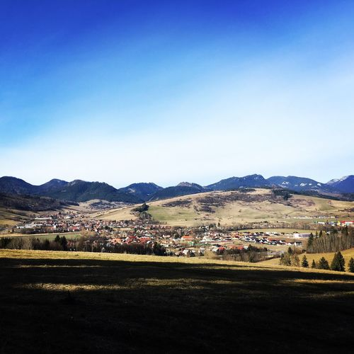 Ivachnova Spring Springtime Sun Sunnyday Nature Mountain Blue Outdoors Sky Landscape No People Beauty In Nature